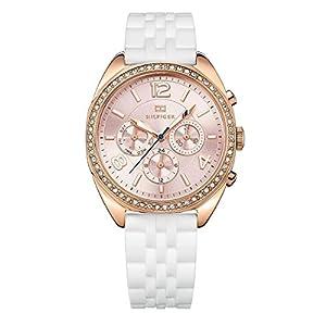 Tommy Hilfiger-Reloj de pulsera analógico para mujer cuarzo silicona 1781568 de Tommy Hilfiger