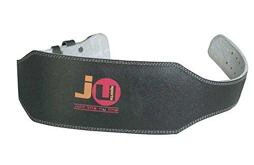 Ju-Sports Herren Gewichtheber Gürtel aus Echtem Leder