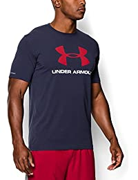 Under Armour Sportstyle Logo T-Shirt midnight navy-white-red - XL
