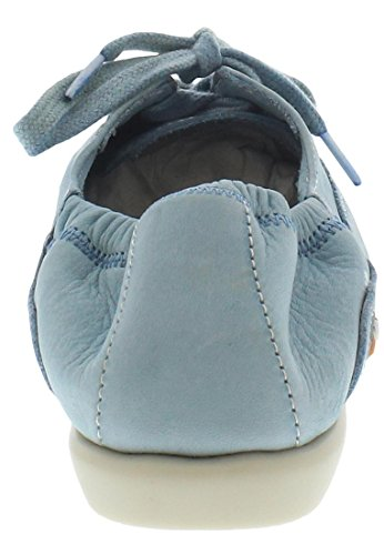 Softinos Ver362sof, Ballerine Donna pastel blue