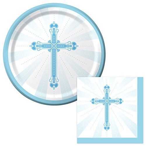 blue-cross-blessings-dessert-napkins-plates-party-kit-for-8-by-party-explosions