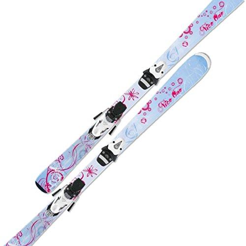 HEAD NICE ONE Kinder Mädchen Allround Carver 87cm +MARKER M4.5 EPS Ski Set (314250)