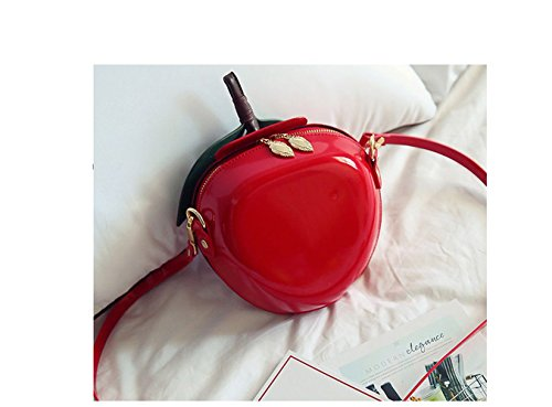 Paket 2017 neue Handtasche Trend Handtaschen einfach Mini Umhängetasche Obst Verpackung Rote