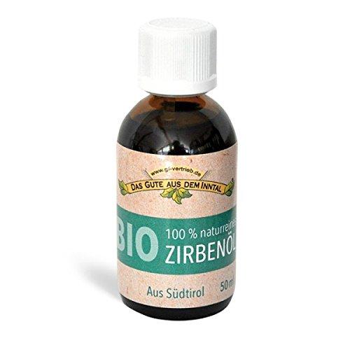 BIO Zirbenöl 50 ml -100% naturrein aus Südtirol - das Gute aus dem Inntal