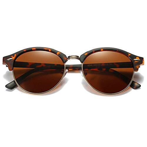 WERERT Sportbrille Sonnenbrillen Polarized Sunglasses Women Retro Round Mirror Driving Sun Glasses for Men Designer Vintage
