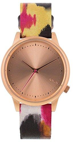 Reloj infantil de cuarzo con para mujer Komono de oro rosa y cristales esfera  analógica y c84492e9b27
