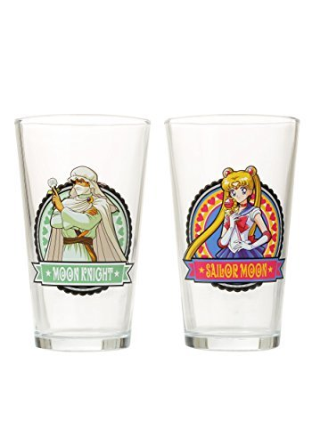 Sailor Moon Water Glass Set - ST by GE Animation