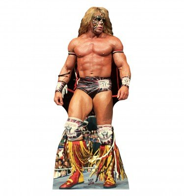 Ultimate Warrior–WWE–Advanced Graphics vie en carton taille