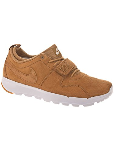 Nike Herren Trainerendor Prem Skaterschuhe Goldfarben / Weiß (Flax / Flax-White-Gm Light Brown)
