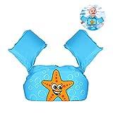 Braccioli gonfiabili per bambini, giubbotto galleggiante da allenamento per 2-6 anni 0ld, 15-30 kg, braccioli per ragazze e ragazzi Style 2
