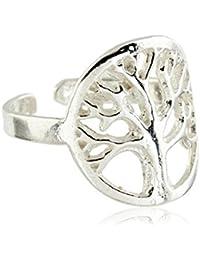Córdoba Jewels | Sortija de Plata de Ley 925 con diseño Árbol de la Vida
