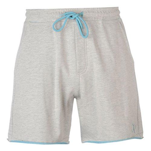 ocean-pacific-hombre-2-tone-fleece-short-elastico-pantalones-verano-casual-fondo-ecru-blue-medium