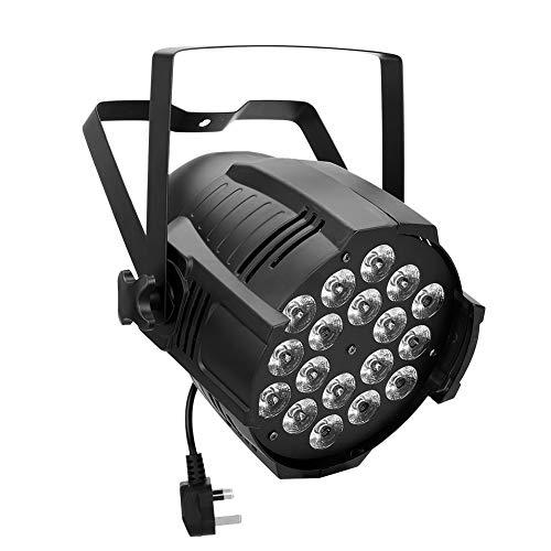 Riuty LED RGBW Lampe, Bühnenshow Beleuchtung mit Fernbedienung Kirche Hochzeitsfeier - Weiße Wand Steuert Vier