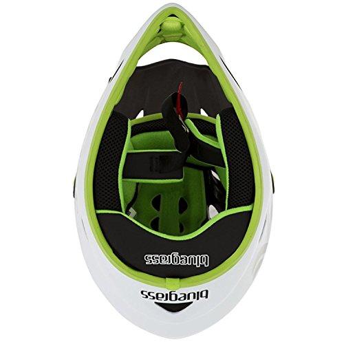 bluegrass Explicit Helm white/black/green Kopfumfang 58-60 Fullface Helm - 3