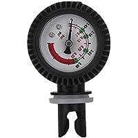 GLOGLOW Nylon Schlauchboot Luftdruckprüfer Barometer für Kayaking Schlauchboot Sup Bord Surfbrett Inflator Pumpe