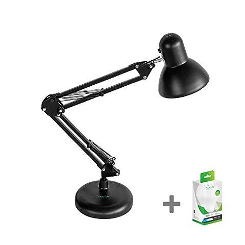 Noeloy® LED-Schreibtischlampe, Klassik Modell, Design-flexiblen Hals, geeignet für E27-Lampen, ideal