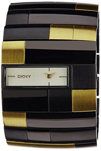 DKNY NY4385 - Orologio da polso da donna, cinturino in acciaio inox multicolore