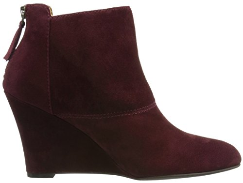 Nine West Optimistic Daim Bottine Dark Red