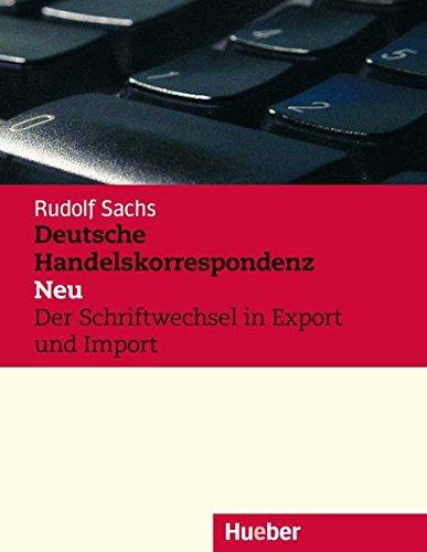 DEUTSCHE HANDELSKORRESPONDENZ (Aleman Comercial)