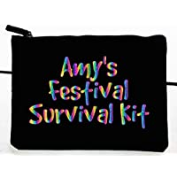 Festival Survival Kit, Personalised Make Up Bag 17
