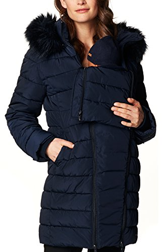 Noppies Damen Jacke Jacket Anna, Blau (Dark Blue C165)