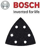 Bosch 2608000232 Original-Ersatz-Delta-Schleifplatte für Bosch PDA 180 / Bosch PDA 180E, mit Cadbury-Schokoriegel