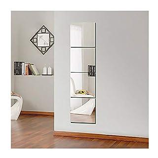 Ardisle Set Of Self Adhesive Mirror Tiles DIY 30cm Wall Mounted Mosaic Home Tiling Home