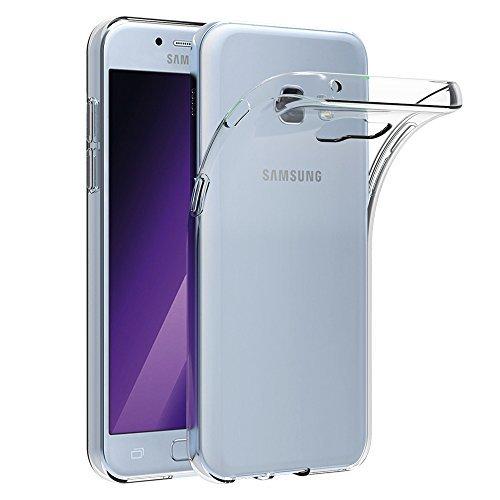 Samsung Galaxy A5 2017 Hülle, AICEK Transparent Silikon Schutzhülle für Galaxy A5 2017 5,2 Zoll Case Crystal Clear Durchsichtige TPU Bumper Samsung Galaxy A5 2017 Handyhülle
