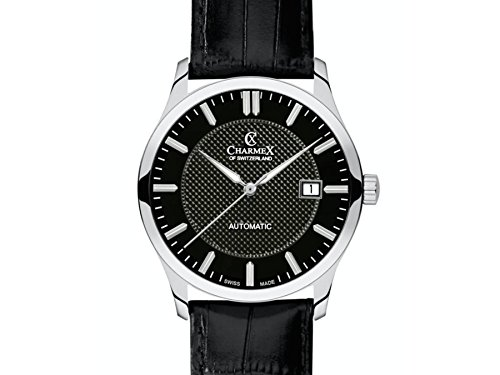 Charmex Black Dial ; Brown Band