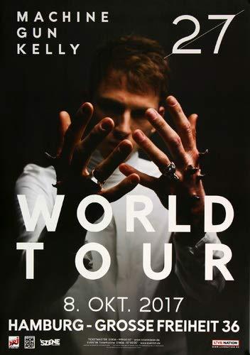 Premium Poster/Plakat | DIN A1 | Live Konzert Veranstaltung » Machine Gun Kelly - Twenty Seven, Hamburg 2017 « -