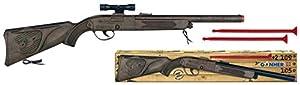 Gohner- Rifle de Plástico + Flechas - S.Mecánico, Multicolor (109/0)