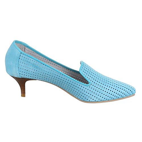 Ital-Design , Escarpins femme Bleu - Bleu clair