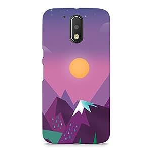 Hamee Designer Printed Hard Back Case Cover for Motorola Moto E3 Design 190