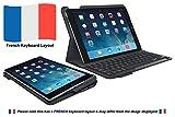Logitech iPadAir2 Tastatur-Case (Type + mit kabelloser Tastatur und Bluetooth, AZERTY Französisches Tastatur-Layout) schwarz