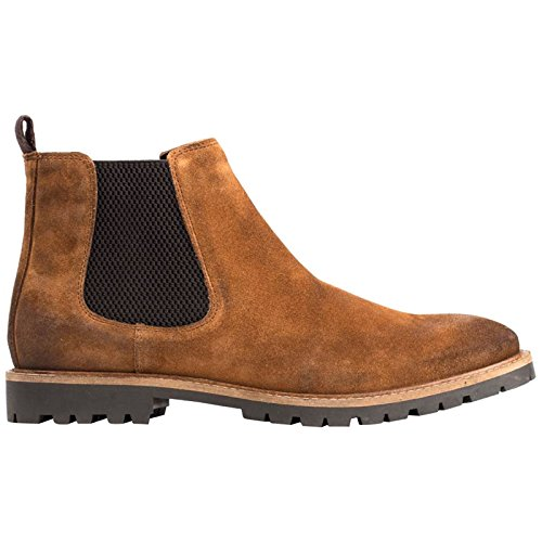 Base London Mens Turret Suede Boots