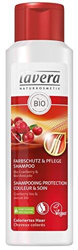 lavera Shampooing Protection Couleur & Soin - Vegan - Cosmétiques naturels - Ingrédients végétaux bio - 100% naturel 250 ml