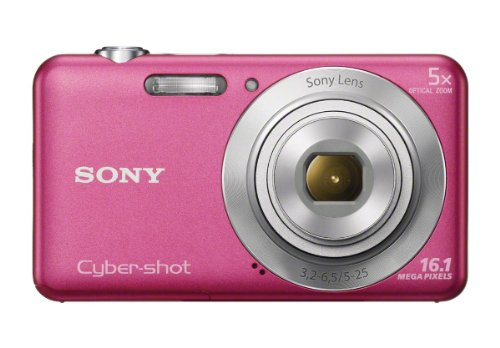 Sony Cybershot W Series DSC-W710/B Point And Shoot Camera Pink