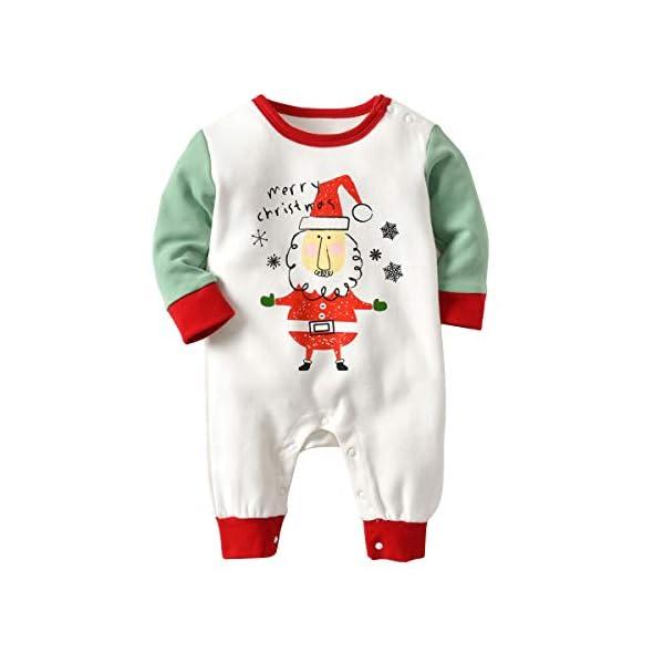 Recién Nacido Pijama Bebés Algodón Niños Niñas Espesar Sleepsuit Navidad Trajes 0-24 Meses 4
