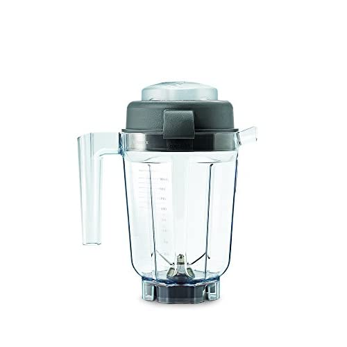 41qRrmI2%2B7L. SS500  - Vitamix VTX 90 Dry Grains Container with Spatula, Plastic, Clear