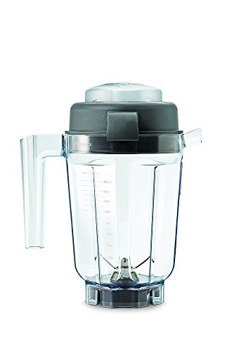 Vitamix VTX 90 Dry Grains Container with Spatula, Plastic, Clear