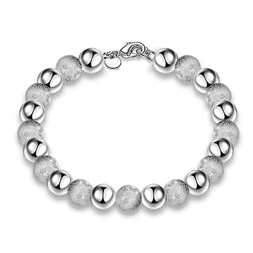 Preisvergleich Produktbild Hosaire 1x Damen Armband Exquisite Schmuck Sandperlen Wristband Bangle Frau Armbander