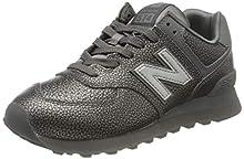 New Balance 574v2, Sneaker Donna, Grigio (Grey Sok), 41.5 EU
