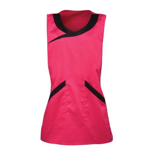 Premier Damen Schürze für Beauty- und Spa-Bereich (Large) (Pink/Schwarz) (Premier-beauty)