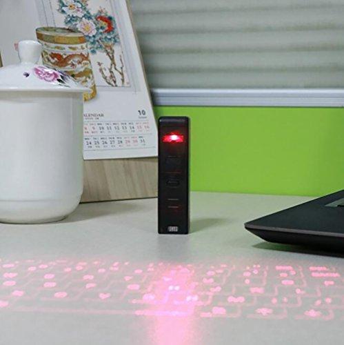 SHANGXIAN Láser Teclado Virtual Proyección Teclado