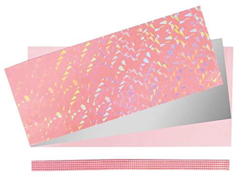 Rayher Set-Verzierwachs Baby, farblich Sortiert, Diverse, Rosa/silber 2.4 x 1.3 x 0.03 cm