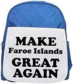 MAKE Faroe Islands GREAT AGAIN printed kid's kid's kid's Bleu  backpack, Cute backpacks, cute small backpacks, cute Noir  backpack, cool Noir  backpack, fashion backpacks, large fashion backpacks, Noir  fashion ba | Dans Un Style élégant  2b33f0