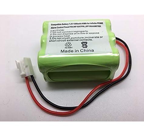 INFINITE PRIME CONTROL PANEL COMPATIBLE BATTERY P: Amazon.co.uk: Electronics