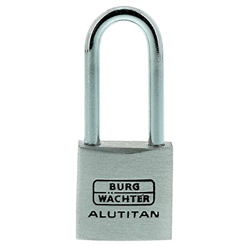 BURG WÄCHTER Vorhangschloss 770 HB Alutitan, 20 mm SB, 1 Stück,770 HB 20 26 SB