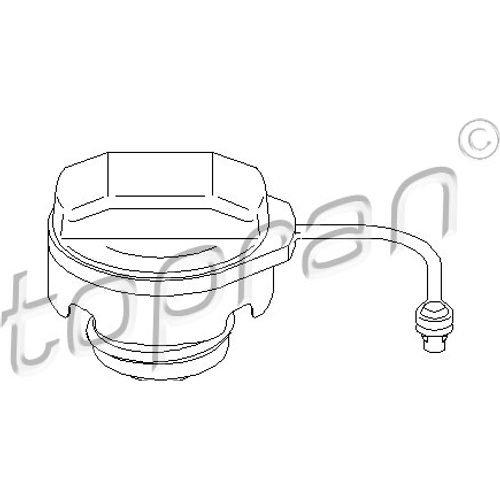 Tankdeckel Tankverschluss Verschluss Kraftstoffbehälter TOPRAN (112 984)