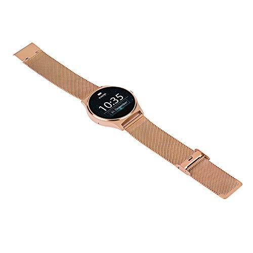JOLI XW PRO | Damen Smartwatch rosegold - Smartwatch Damen iOS - Schrittzähler Uhr Damen - Fitness Smartwatch